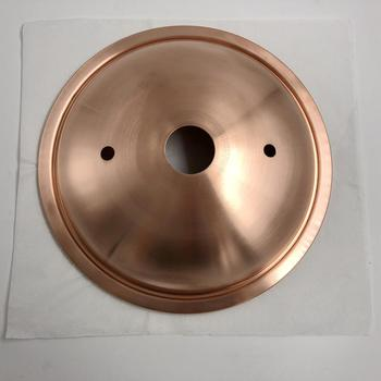 copper fabrication metal spinning spun base