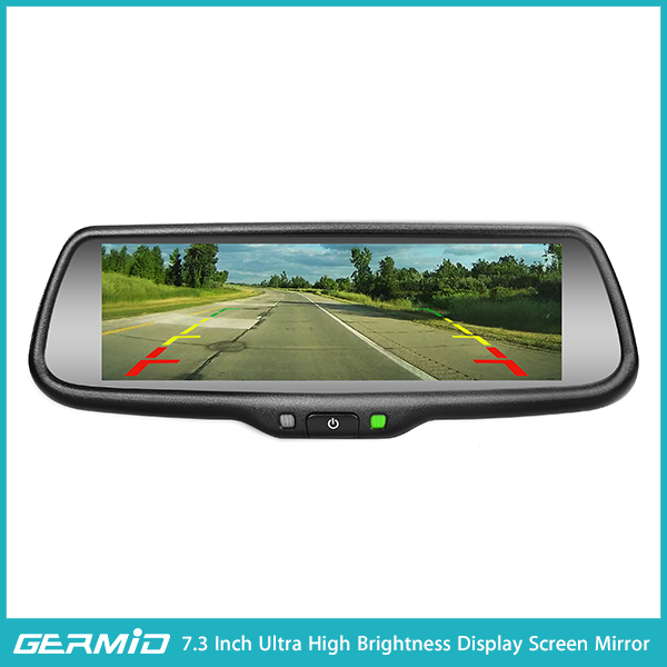 For Universal 4.3 inch LCD Car Backup Rear View Mirror Monitor Reversing Screen