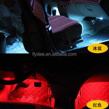 Auto flexible multi color led strip atmosphere light for car auto flexible multi color led strip atmosphere light for car underground foot lamp with remote aloadofball Gallery