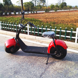 60V motor 2 wheels 18inch fat tire electric scooter 2000w
