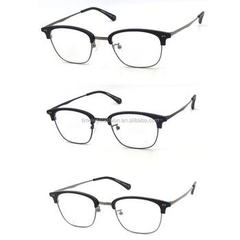 c044d114d5e Half Rimless Unisex Fashion Design Optical Glasses Frame - Buy ...