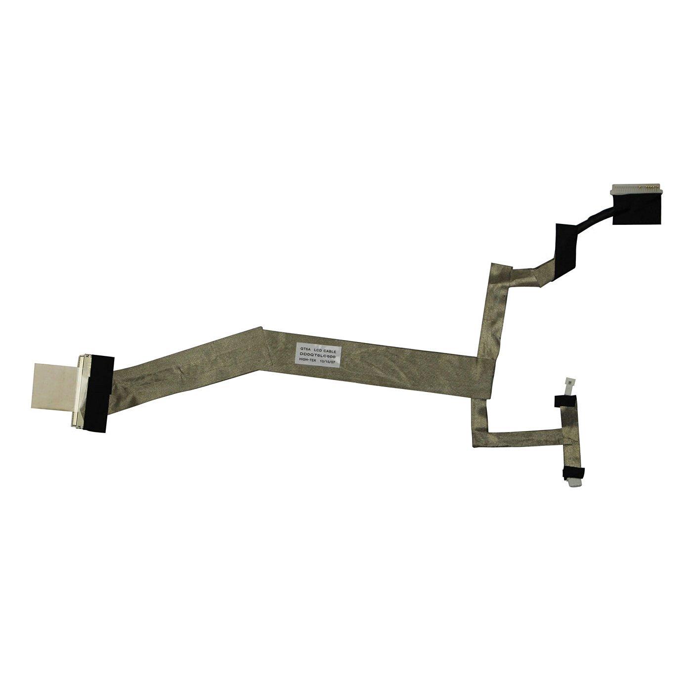 LCD Screen Cable for HP Pavilion dv5-1000 dv5t-1000 CTO dv5z-1000 CTO dv5-1100 dv5t-1100 CTO dv5tse-1100 CTO dv5z-1100 CTO dv5-1200 dv5t-1200se CTO dv5z-1200 CTO dv5-1300 Series Laptop