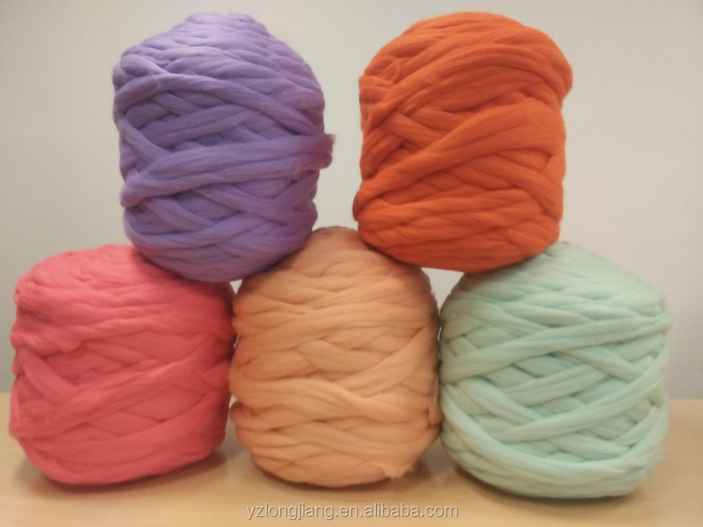 Wool Yarn Top Roving Pure Wool Different thickness