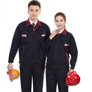 Comfortable Best High Quality Construction Men Work Uniform Poly Cotton Western Uniforms