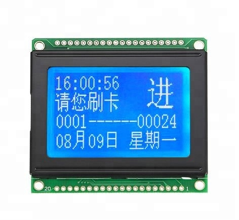 Popular 128*64 Graphic Yellow-green LCD Display Modules