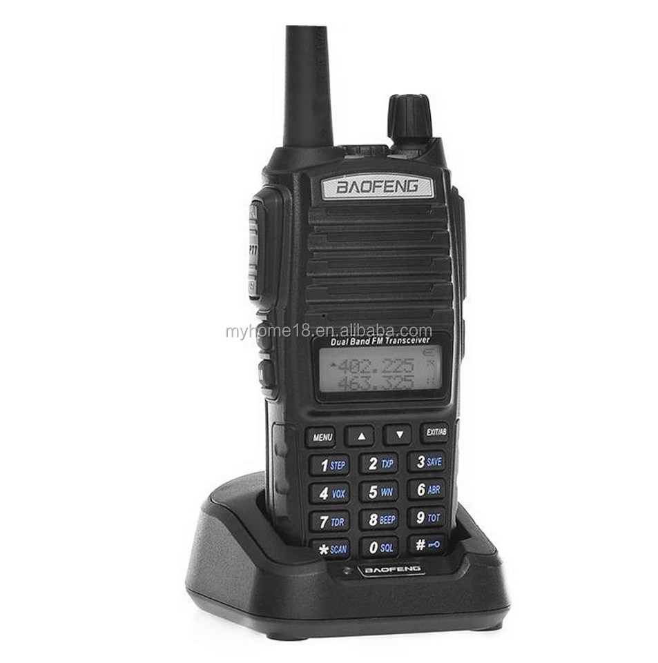 זול BAOFENG UV-82 Dual Band UV 82 האינטרפון vhf/uhf כף יד שתי דרך Tadio Handy ווקי טוקי