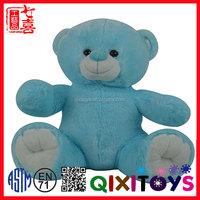 Lovely bear plush doll stuffed plush teddy bear with t-shirt for kids teddy bear patterns