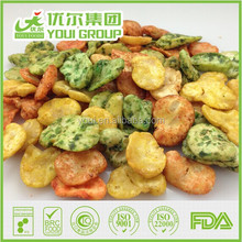 Wholesale Mixed flavor broad bean chips,Fried And Salted Broad Beans For Sale, Fave beans/broad beans/Horse beans snacks