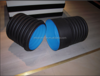 China factory supplier SN8, SN4 hdpe corrugated pipe for drainage