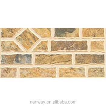 Factory Supply Decorative Outdoor Wall Tile Glazed Exterior Wall ...