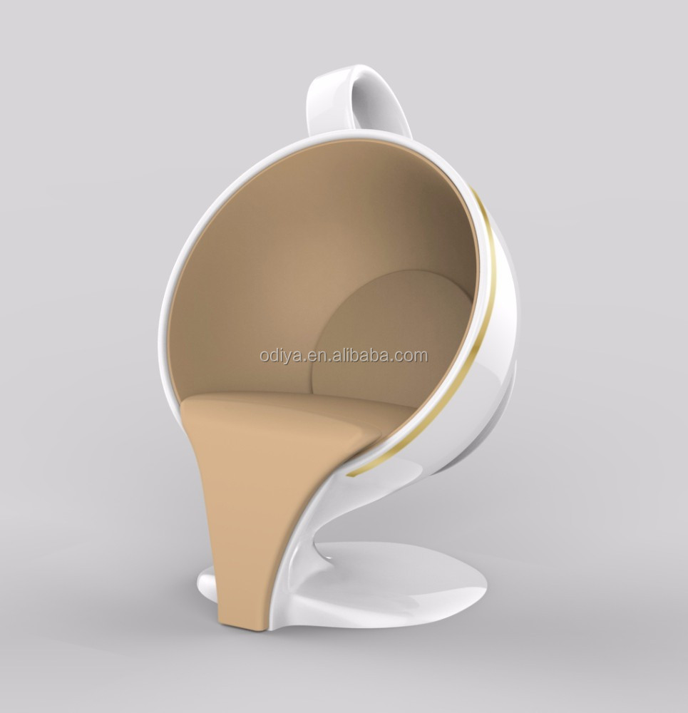 Frp Fibergl Coffee Cup Shaped Chair Shape Product On Alibaba