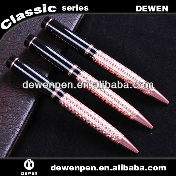 Top quality metal pen with twist mechanism