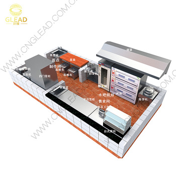 2017 New Design Modular Stainless Steel Commercial Kitchen
