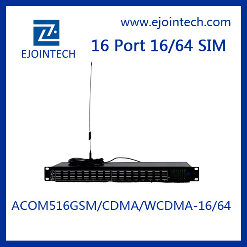 GSM 16 Port cdma 800/1900 NHZ Modem With Wavecom Module Support For Mobile Recharge IMEI Changeable