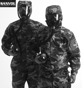 NBC Protective Clothing Chemical Suit cbrn protective clothing