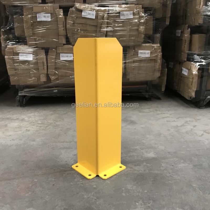 Stockage En Métal Colonne garde droit accessoire cadre système de support de palette de gardes