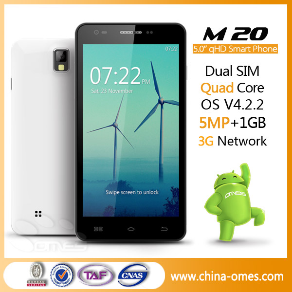 China Supplier 5'' MTK6582 Quad Core China Mobile Java Games Download 3G Senior Mobile