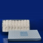 Plain in Disposable Airline Tray Towels Disposable Cotton Hot Airline Towel in Tray for Airways