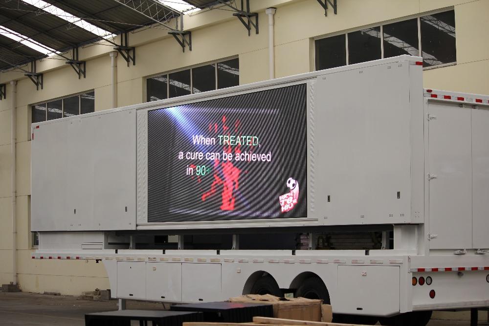 Yeeso grote versie led mobiel podium vrachtwagen te koop for Mobiel te koop