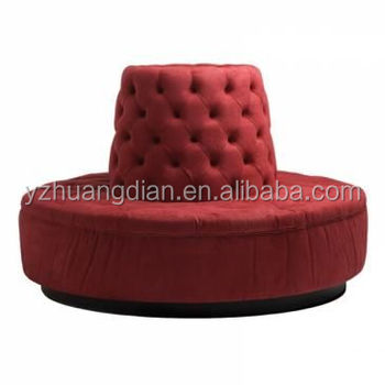 Contemporary Hotel Round Lobby Sofa Ys7027