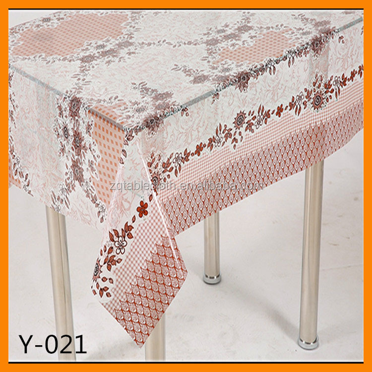 Cheap Clear Pvc Sheet Pvc Table cover