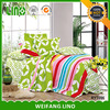 new design quilt cover set/quality cotton bed sheet/printed bed coloring sheet