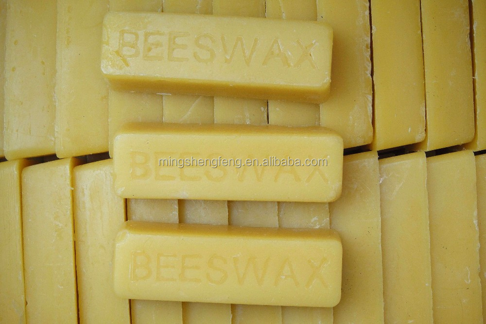 2017 Best for candle-making beeswax blocks yellow white hot sale in france market and beeswax candle using material