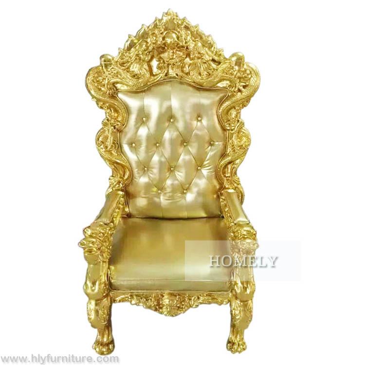 Usine Pas Cher Royal Roi Trone Chaise A Vendre