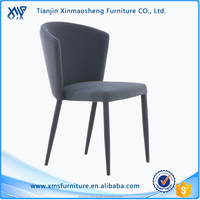 European Leisure Style fabric Dining/ Hotel Dining Leather Chair modern design dinning room chair