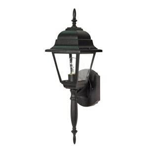 (USA Warehouse) Nuvo Lighting 60/542 Textured Black Single Light Up Lighting Outdoor Wall -/PT# HF983-1754401752
