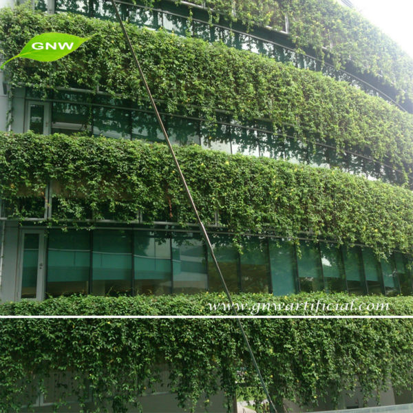 Gnw glw024 pared verde artificial realista plantas de - Plantas de plastico ikea ...