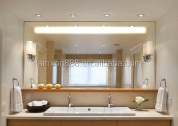 Specchio del bagno grande illuminazione specchio a parete lungo