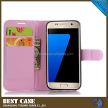new leather folding wallet case for iphone 7 smartphone case