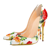 Gracozy Design your own photos ladies printing women high heel shoe 2018