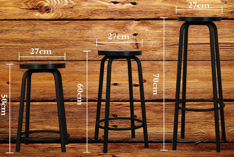 Prezzo di fabbrica antico bar tender sgabello sedia sgabello da