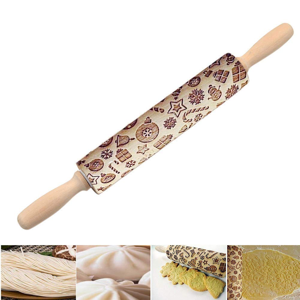Assorted Cake Boss Decorating Tools Silicone Fondant Rolling Pin Guide Set