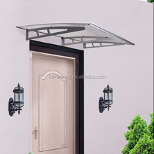 Wholesale Durable Euro-design outdoor DIY polycarbonate door aluminum porch awnings