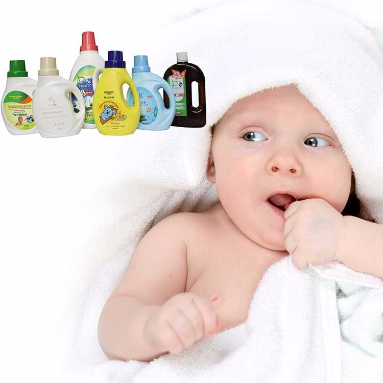 OEM offer sample free liquid detergent for baby underwear used clothes baby liquid detergent baby care product