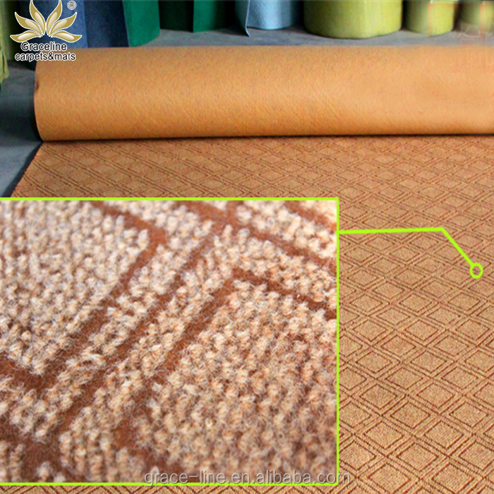 variety designs ground protection mat washable rugs Jacquard Carpet