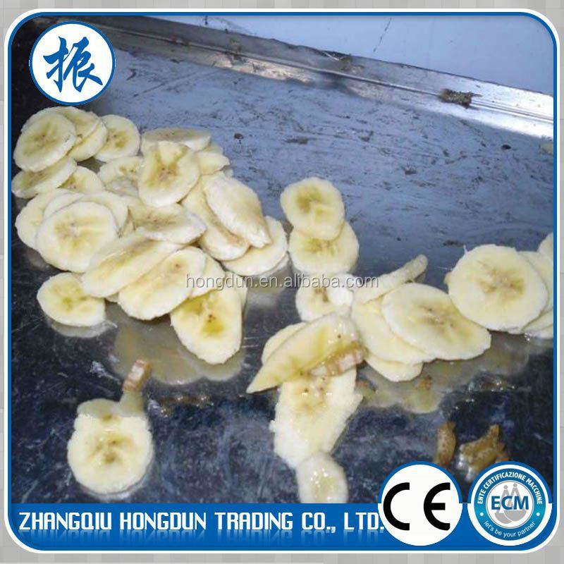 China Popular Banana Chips Slicing Machine