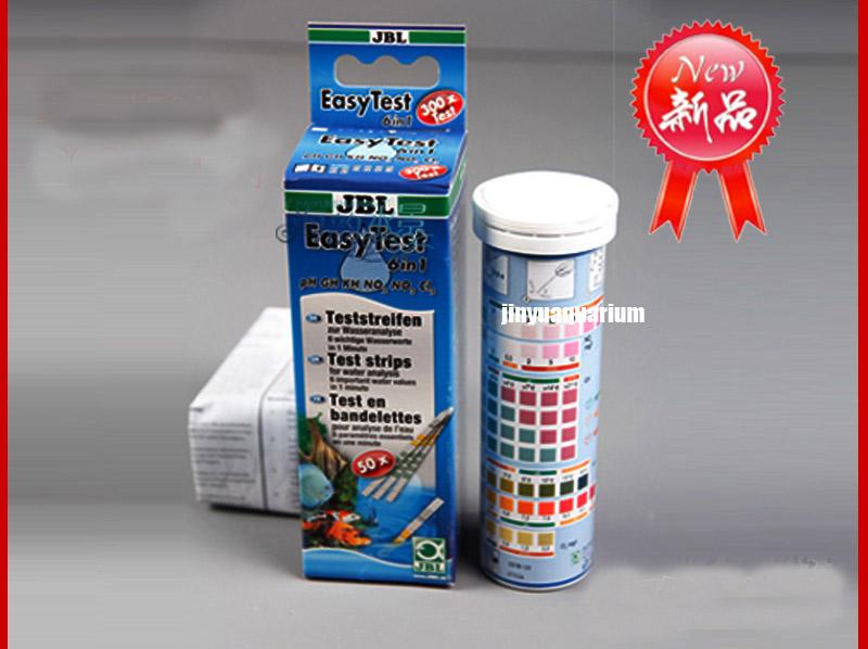 jbl easy test strips ph gh kh no2 no3 cl2 chlorine aquarium fish tank water test kit in cleaning. Black Bedroom Furniture Sets. Home Design Ideas
