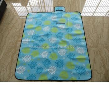 Polyester Fleece Material Waterproof Picnic Mat Rug Product On Alibaba