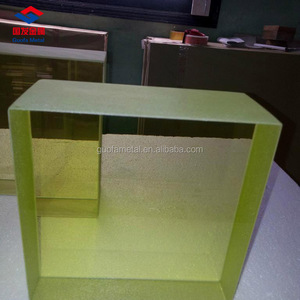 18mm 20mm X-Ray Shielding Lead Glass For CT Room