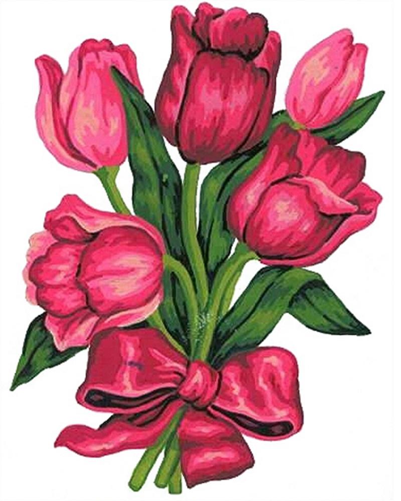 Букет тюльпанов картинки для детей