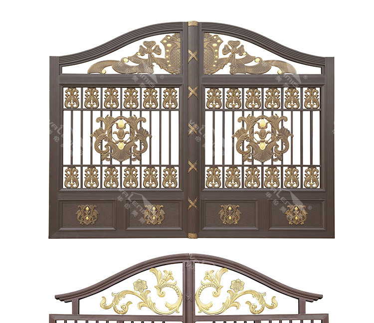 Cheap Aluminum Villa Gate Designs Design Buy Front Gate Designs