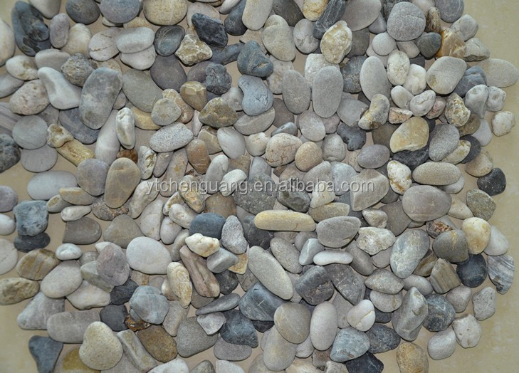 Gray Color and Cobble Cobble&Pebble Type paving stone