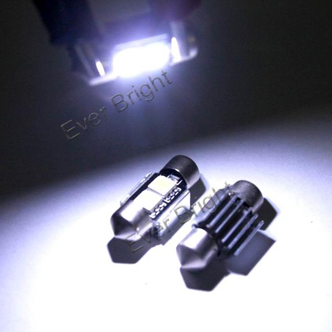 10 шт. * Canbus 31 мм 5050 2SMD 32LM ошибок нет аудио-полярный из светодиодов гирлянда лёгкие, Canbus smd из светодиодов