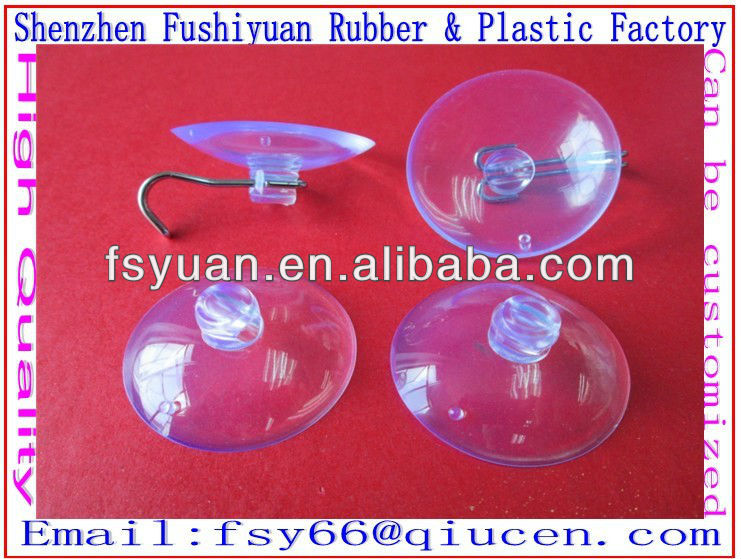 15 30 45 50 55 60 63 68 80mm pvc vacuum Non-toxicand environmental transparent suction cup small plastic suction cups
