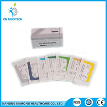 Sterile surgical braided silk suture