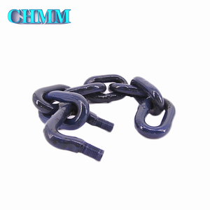China Competitive Price High Strength Drag Chain With U Bolts Chain Hook For Bucket Elevator